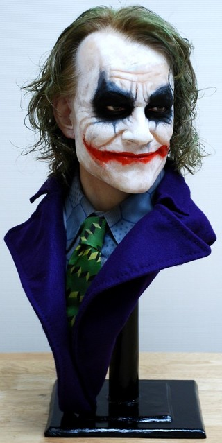 Buste 1:1 Heath Ledger - Le Joker Dsc_1210
