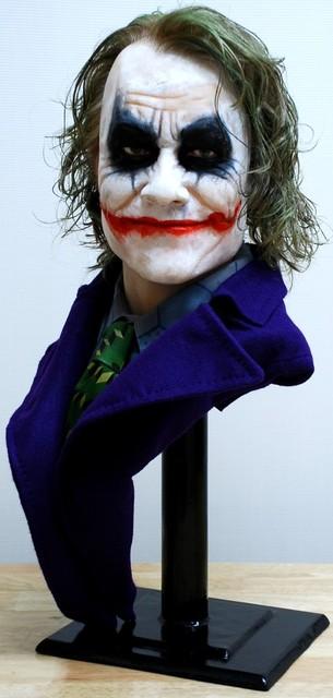 Buste 1:1 Heath Ledger - Le Joker Dsc_1310