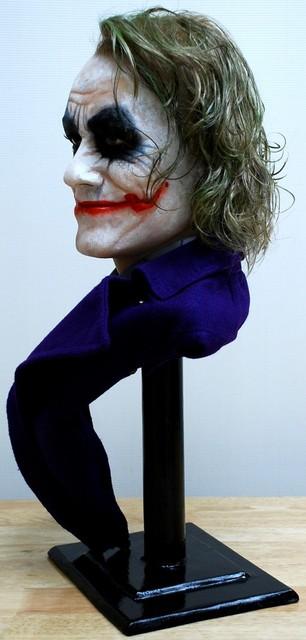 Buste 1:1 Heath Ledger - Le Joker Dsc_1311