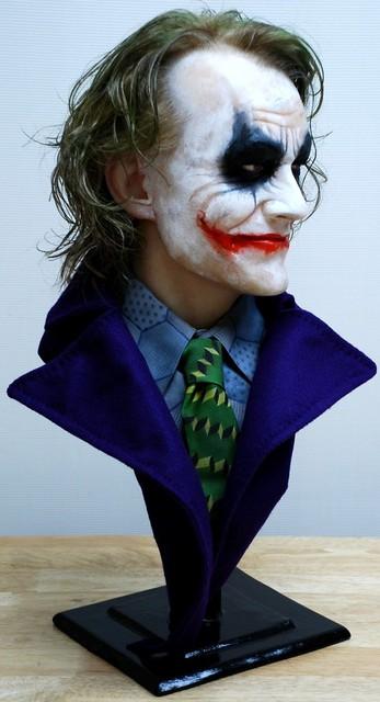 Buste 1:1 Heath Ledger - Le Joker Dsc_1312