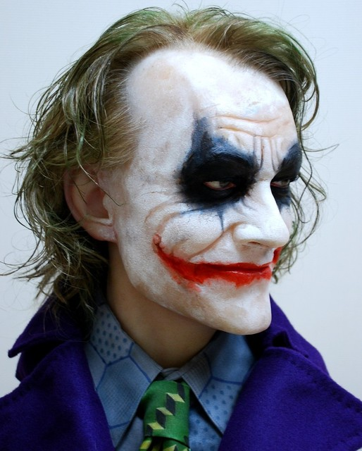Buste 1:1 Heath Ledger - Le Joker Dsc_1313