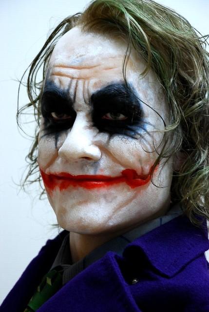 Buste 1:1 Heath Ledger - Le Joker Dsc_1315