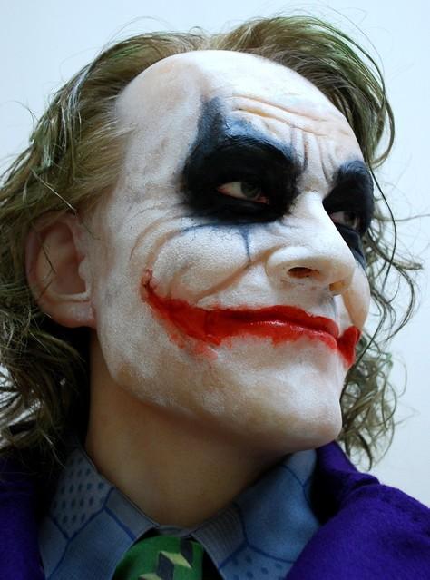 Buste 1:1 Heath Ledger - Le Joker Dsc_1317