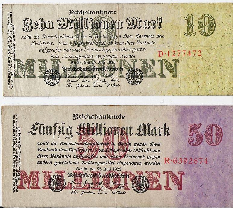 Billetes de Alemania Aleman11