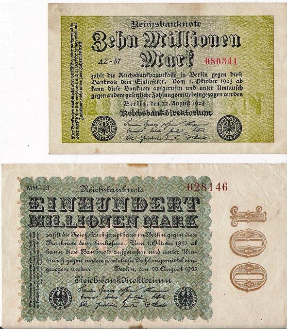 Billetes de Alemania Aleman12