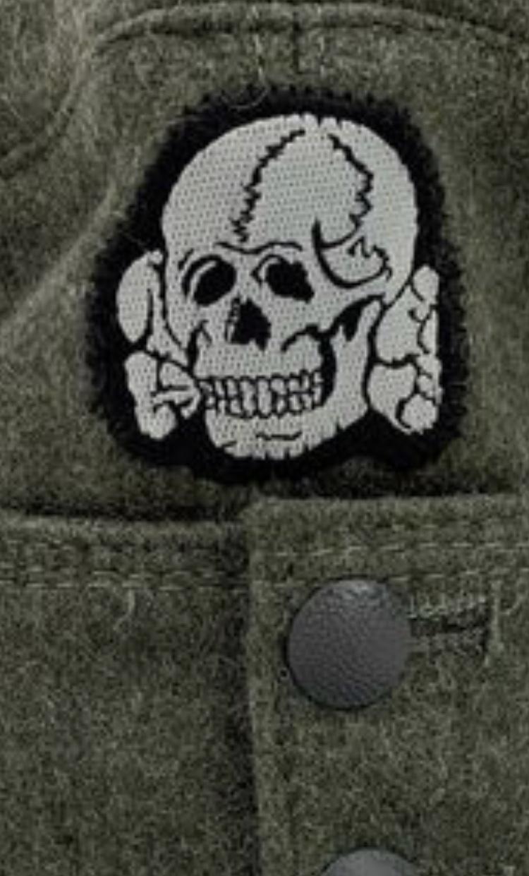 Casquette allemande mod 43 tête de mort 05f08f10