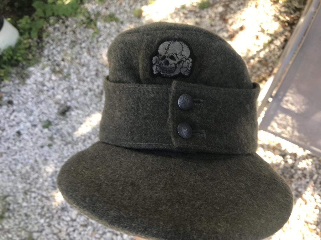 Casquette allemande mod 43 tête de mort 08b9c210
