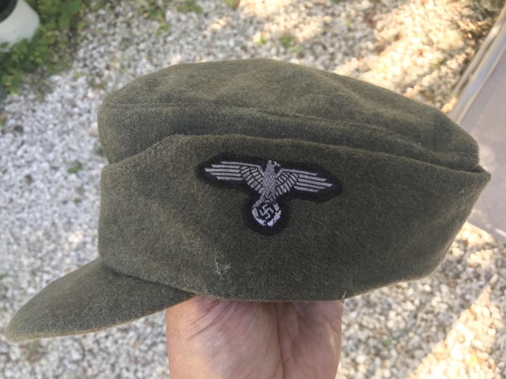 Casquette allemande mod 43 tête de mort B5001d10