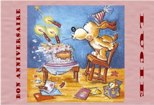 Bon anniversaire LUCIE Animat12