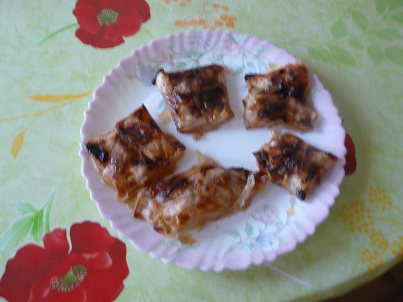 Nems de pommes a la canelle et sauce caramel Noal_210