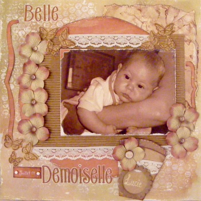 25 août ... ***Belle Demoiselle*** Lucie11