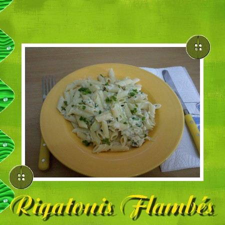 Rigatoni flambés Rigato10