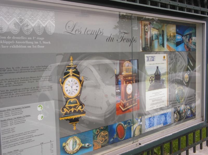 Visite du Musée d'Horlogerie - Chateau des Monts au Locle Dcfc0013