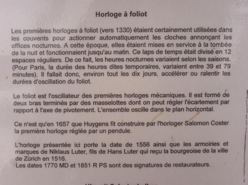 Visite du Musée d'Horlogerie - Chateau des Monts au Locle Dcfc0016