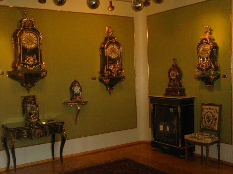 Visite du Musée d'Horlogerie - Chateau des Monts au Locle Dcfc0018