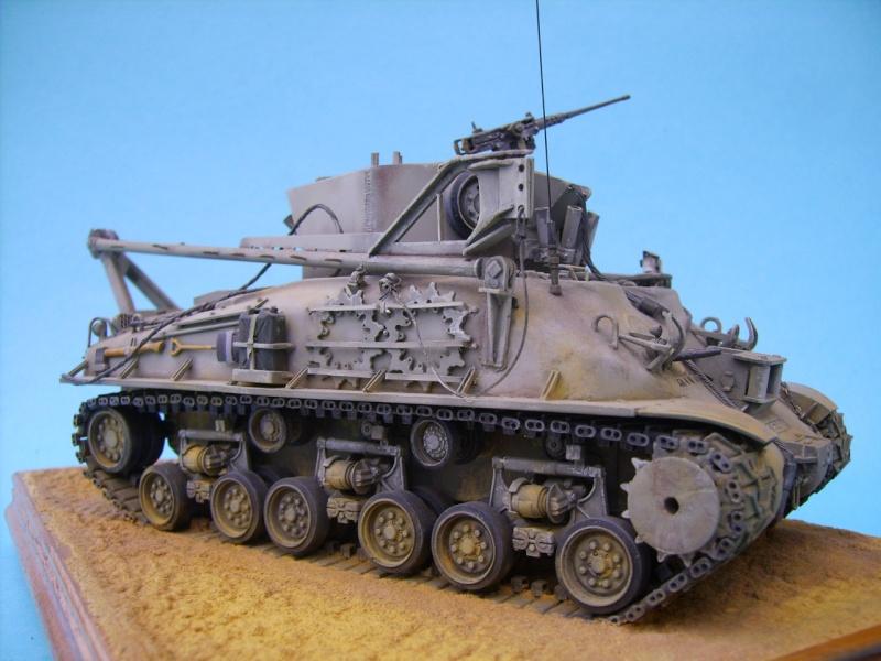 Ambutank et M74 IDF - 1/35 - Bases Dragon et Italeri M74110
