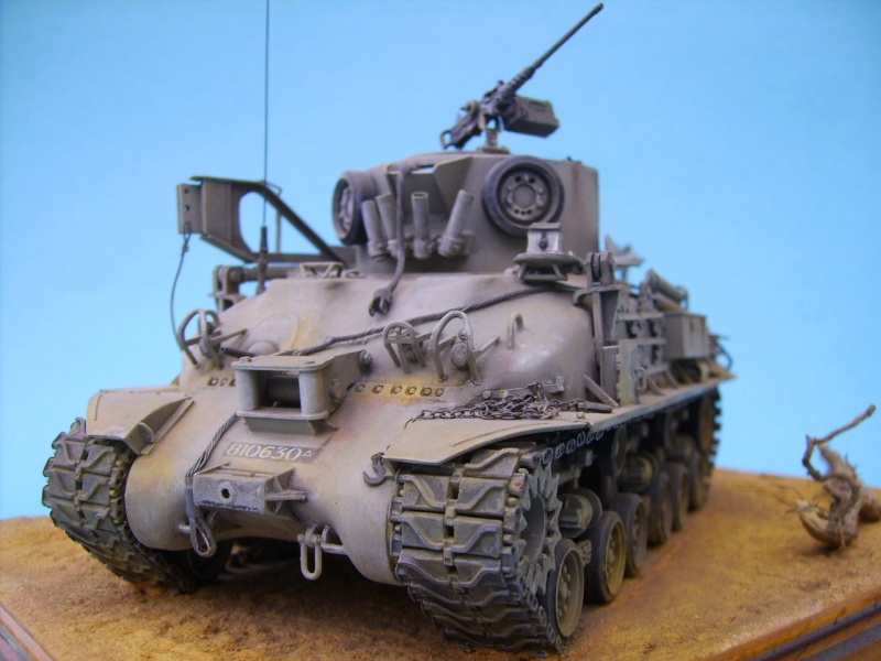 Ambutank et M74 IDF - 1/35 - Bases Dragon et Italeri M74410