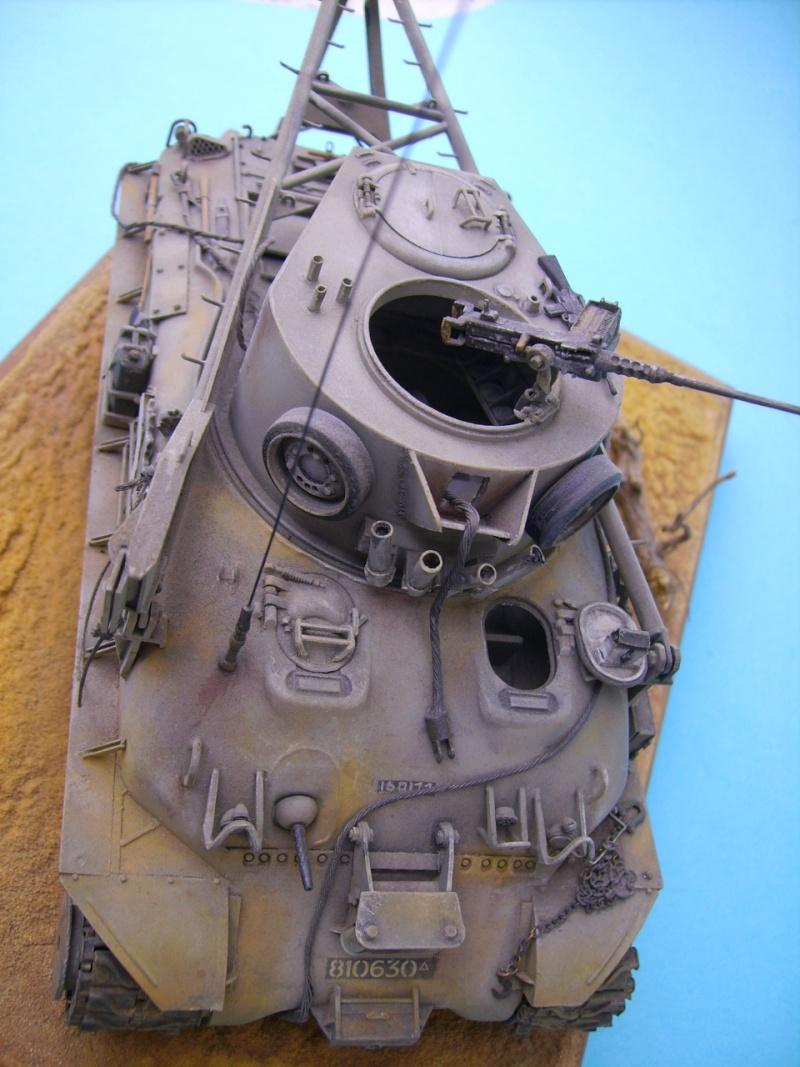 Ambutank et M74 IDF - 1/35 - Bases Dragon et Italeri M74510