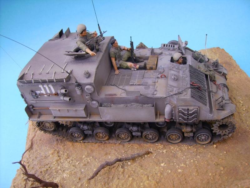 Ambutank et M74 IDF - 1/35 - Bases Dragon et Italeri Medic110
