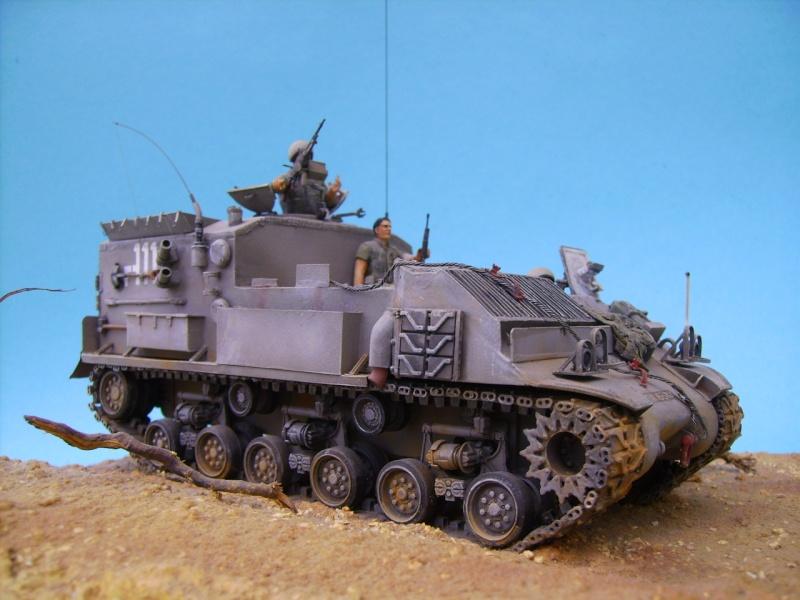 Ambutank et M74 IDF - 1/35 - Bases Dragon et Italeri Medic210