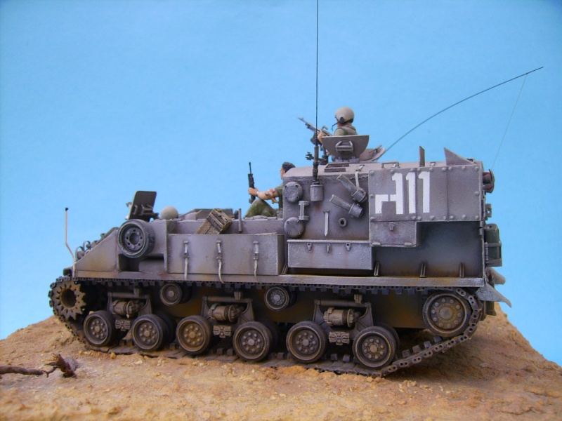 Ambutank et M74 IDF - 1/35 - Bases Dragon et Italeri Medic310
