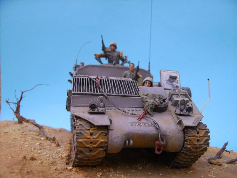 Ambutank et M74 IDF - 1/35 - Bases Dragon et Italeri Medic410