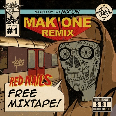 MAK'ONE REMIX mixé par DJ NIX'ON Mak_on10