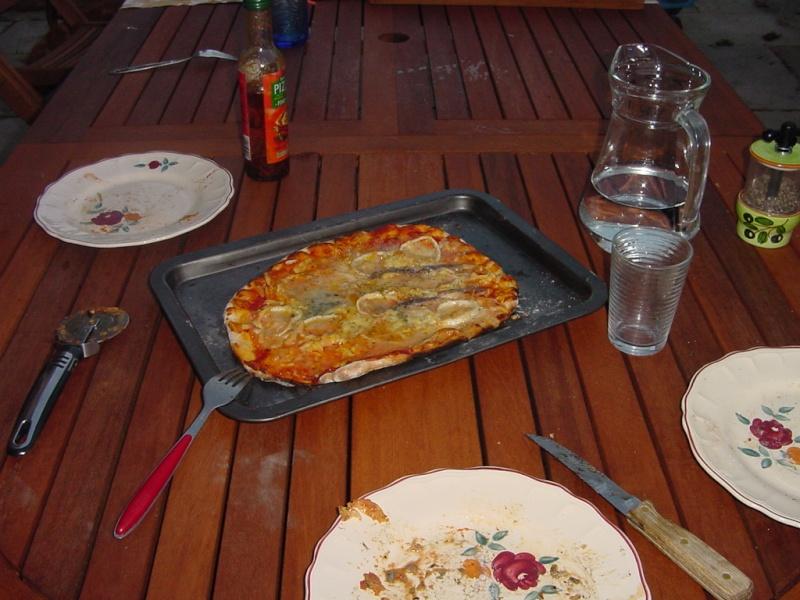 four et soiré pizza ; 1ere... Dsc00221
