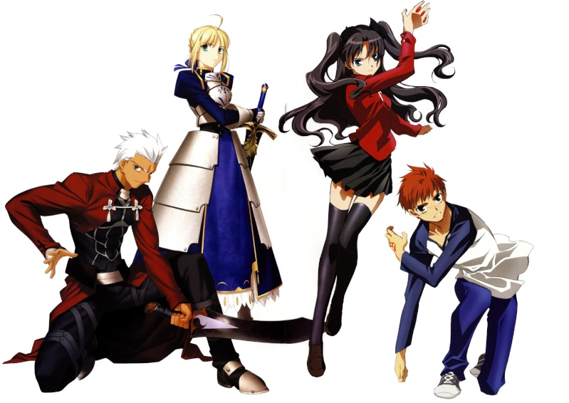 Imagenes de Fate Stay Night. All_to10
