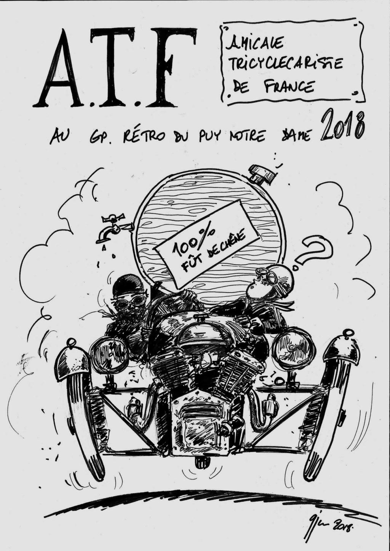 22 ème GP rétro du Puy Notre Dame Dessin11
