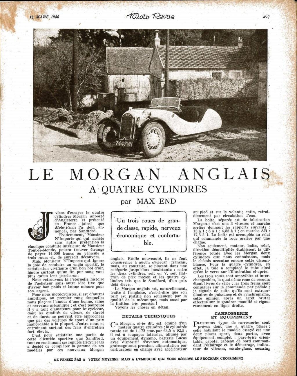 Essai Morgan F2 Moto revue mars 1936 Essai_10