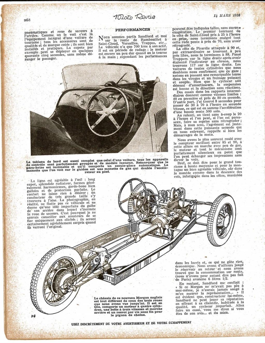 Essai Morgan F2 Moto revue mars 1936 Essai_11