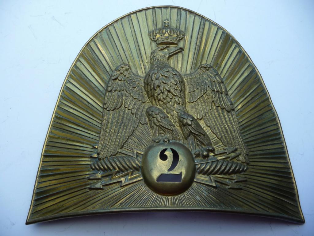 Plaque de grenadier de la garde 2° empire?? P1200211