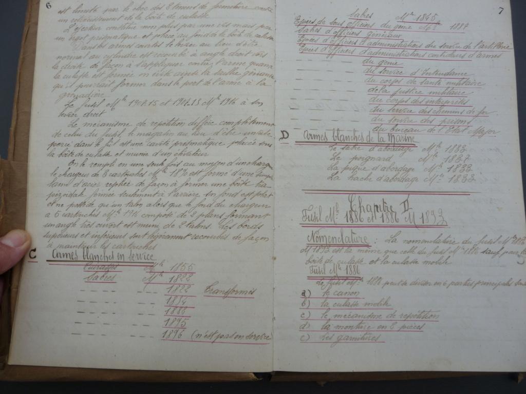 Cahier d'armement caporal Lambert du 32° RI!! P1240156