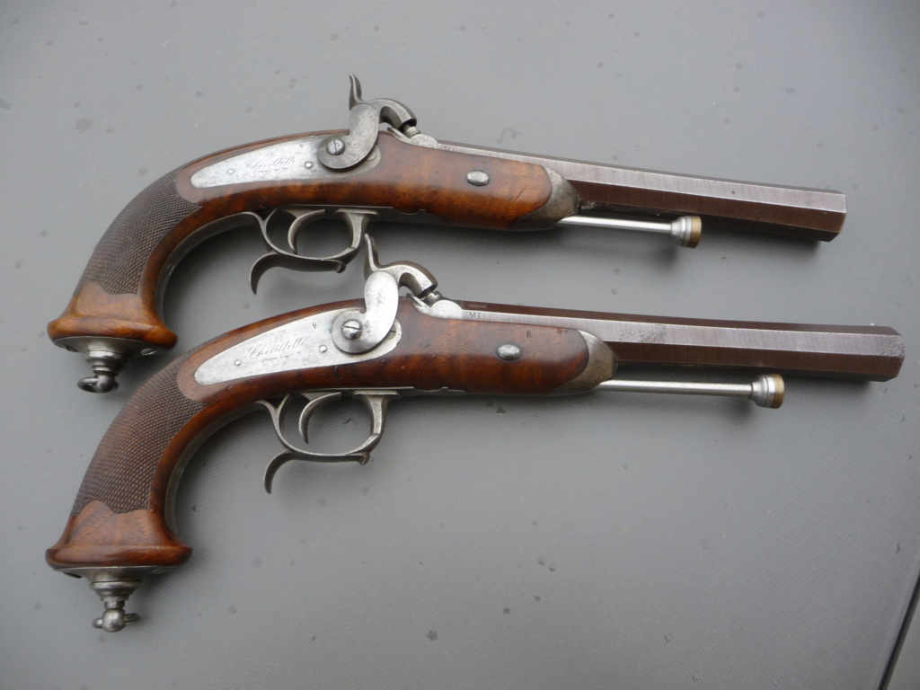 Une paire de pistolets Mle 1833 P1240224