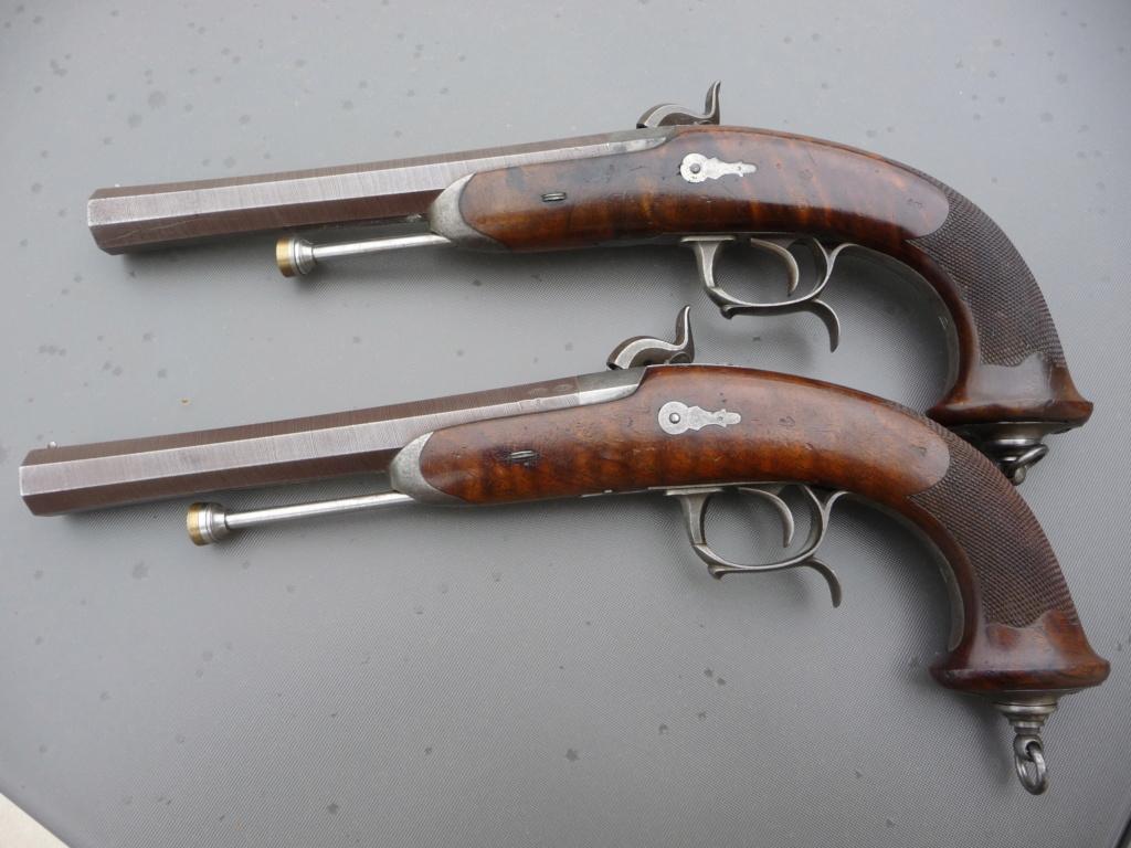 Une paire de pistolets Mle 1833 P1240228