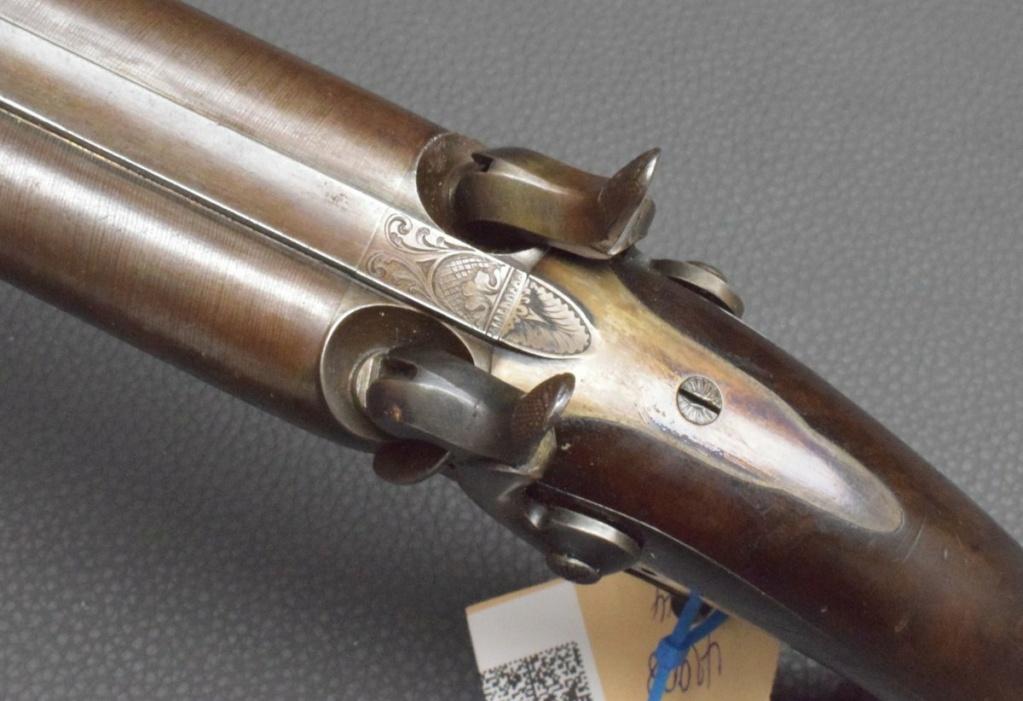 Pistolet percussion à double canons????? Pistol13