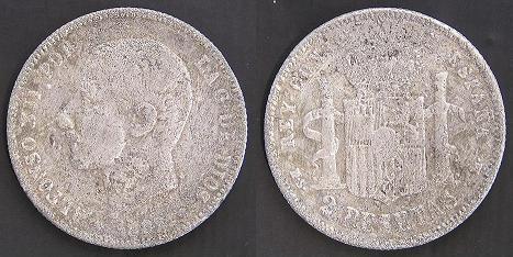 Isabel II, Cuartillo. Peró de que material? Alfons16