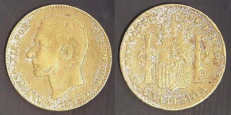 Isabel II, Cuartillo. Peró de que material? Alfons17
