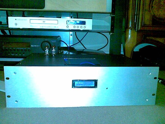 Etage de sortie à tube pour lecteur CD 12082010