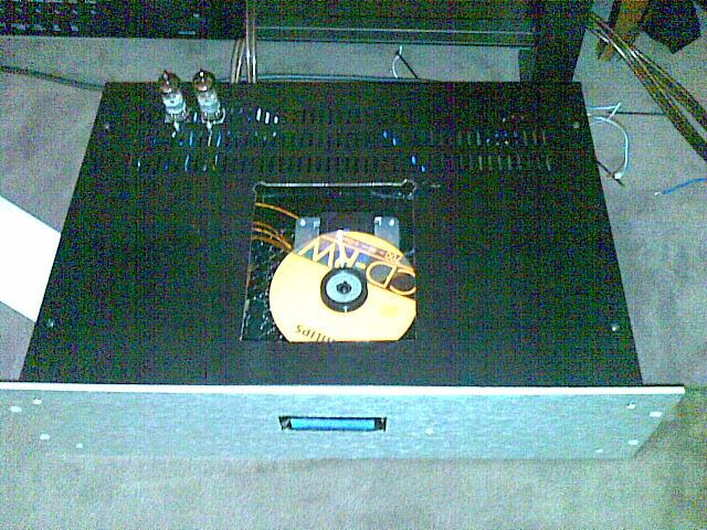 Etage de sortie à tube pour lecteur CD 12082011