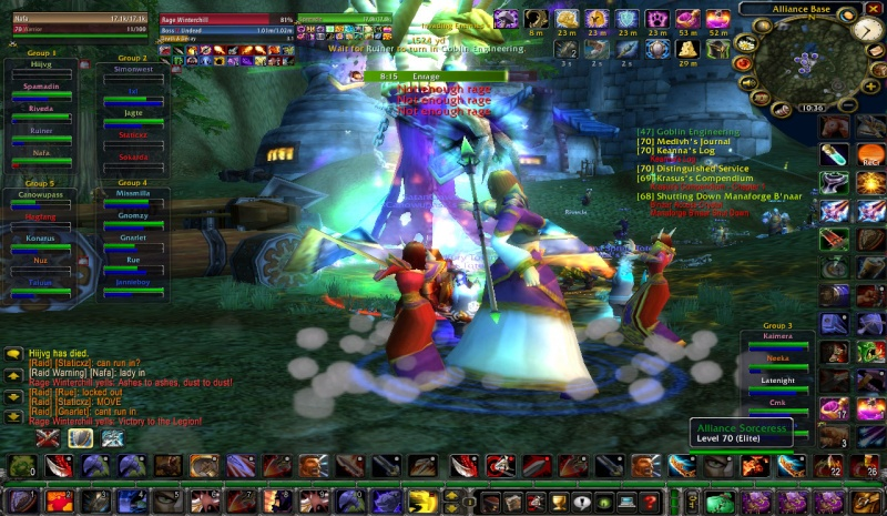 Mount Hyjal with Living Legends Wowscr12