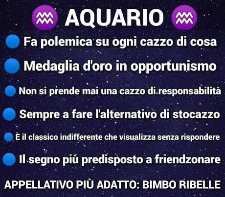 OROSCOPO   Aquari10