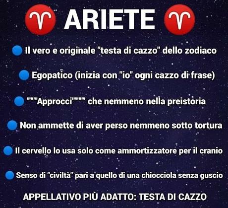 OROSCOPO   Ariete10