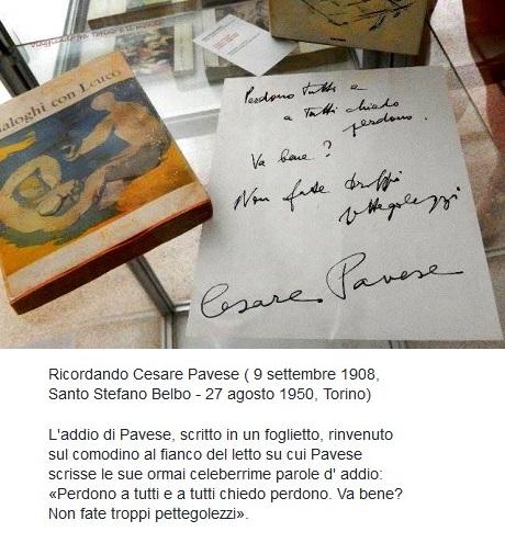 Ricordando Cesare Pavese Cesare10