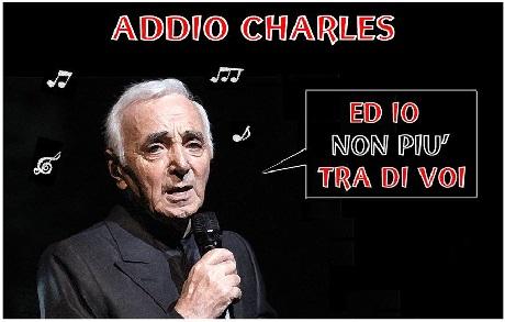 Addio a Charles Aznavour Charle10