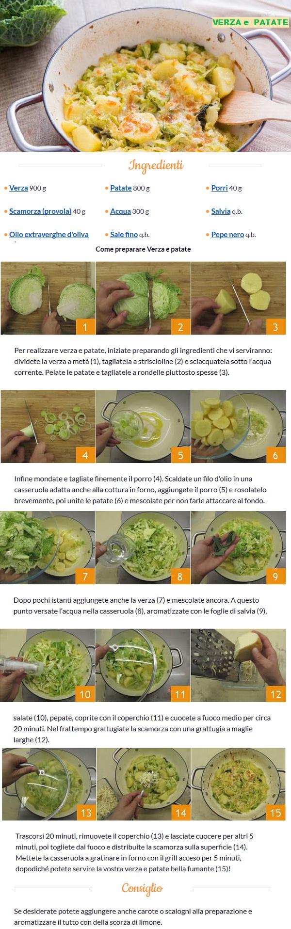 Patate in cucina - Pagina 2 Verza_10