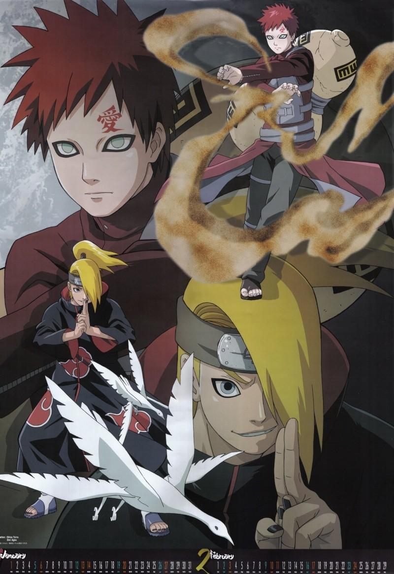 calendario de imagenes de naruto shippuden 2008 Naruto10