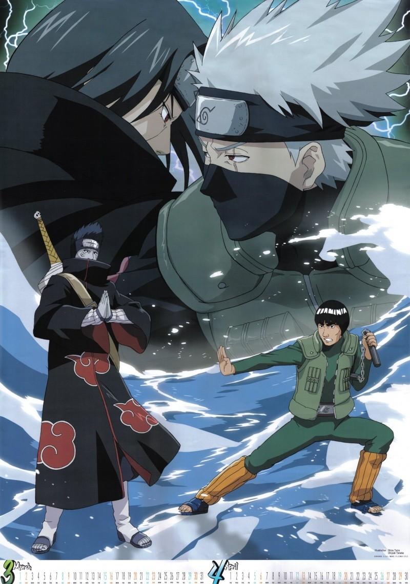 calendario de imagenes de naruto shippuden 2008 Naruto11