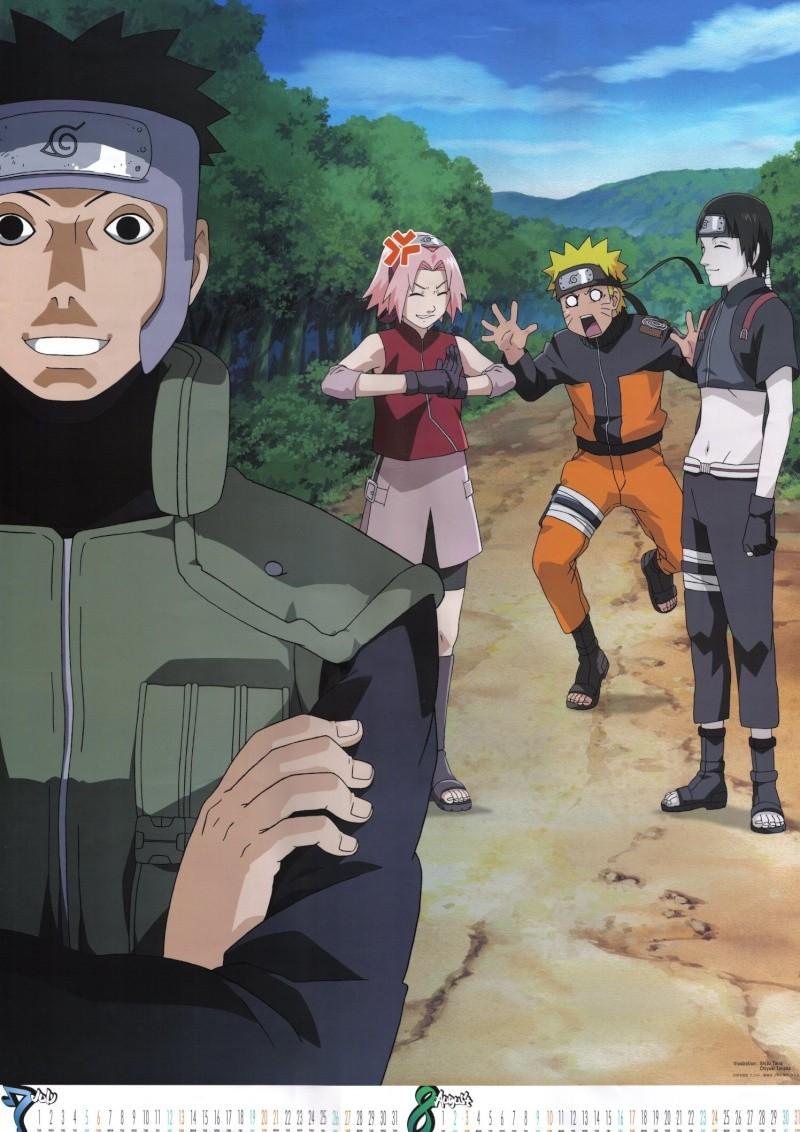 calendario de imagenes de naruto shippuden 2008 Naruto14